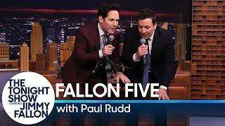 Tonight Show Fallon Five: Paul Rudd