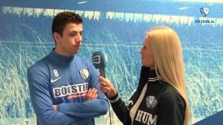 Blick auf die Partie VfL Bochum 1848 - FC Würzburger Kickers mit Anthony Losilla