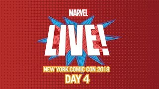Marvel LIVE! at New York Comic Con 2018 - Day 4