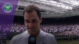 Roger Federer Wimbledon 2017 final winner