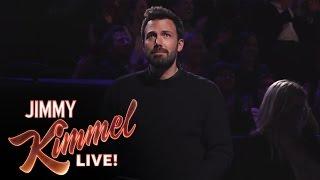 Ben Affleck Stays Loyal to Jimmy Kimmel