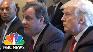 President Trump, Governor Chris  Christie Outline Plans To Fight Opioid Epidemic | NBC News
