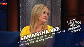 Samantha Bee Could Leap Into Justin Trudeau