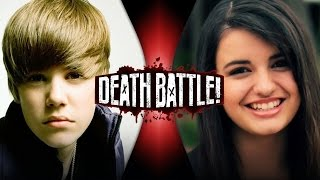 Justin Bieber VS Rebecca Black | DEATH BATTLE!