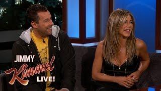 Jennifer Aniston & Adam Sandler on Friendship, Adam Levine & Emergency Landing
