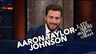 Aaron Taylor-Johnson Bulked Up For A Role With Help From In-N-Out