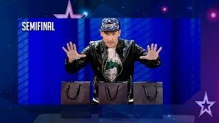 El mago Leo Ramírez roba a Edurne su móvil en directo | Semifinal 4 | Got Talent España 2018