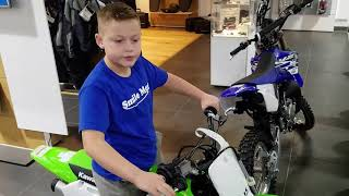 Lets try to Find a 2017 Kawasaki KX65 and...What