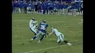 Tiki Barber Game Film (2002 Week 17 vs Eagles)