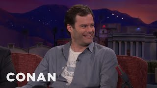 """Bill Hader's """"SNL"""" Monologue Came Together At The Last Minute  - CONAN on TBS"""