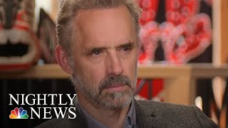 Extended Interview: Jordan Peterson Discusses How The World Shapes His Views   NBC Nightly News