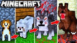 WERWOLF LEBENSZYKLUS in Minecraft - Vom HUND zum UNGEHEUER!