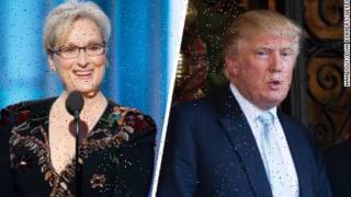Trump slams Meryl Streep in response to Golden Globe speech critical of Trump