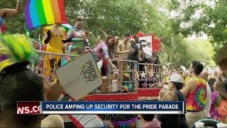 Police amp up security for St. Pete Pride