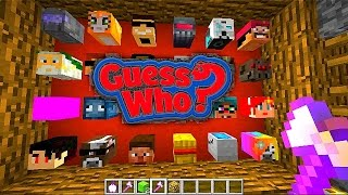 Minecraft NEW GUESS WHO #1 with Vikkstar & Ali-A (Guess Who 2.0)