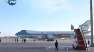 APEC: US President Barack Obama arrives in Beijing