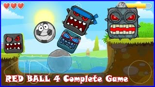 Complete Red Ball 4 game walkthrough with Soccer Ball. Killed all bosses