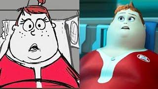 "Wall E Side by Side ""The Axiom"" | Pixar"
