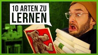 10 Arten zu Lernen