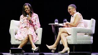 Michelle Obama talks women