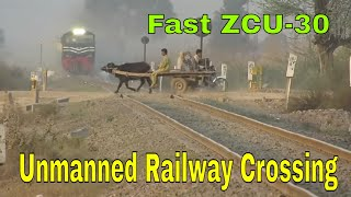 Pakistan Railways   Fastest Train ever 42Dn Karakoram Express Flying Pass Faisalabad Dry Port   2018