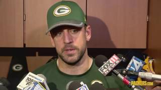 Aaron Rodgers Interview | Packers vs Giants Playoffs