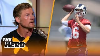 Is Jared Goff the answer at QB for Los Angeles? Rams GM Les Snead explains | THE HERD