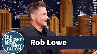 Rob Lowe Had a Close Encounter with a Wood Ape
