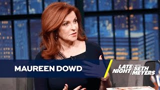Maureen Dowd Had Coffee with Donald Trump in the