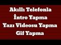 Akıllı Telefon ile intro Yapma Yazı V...mp3