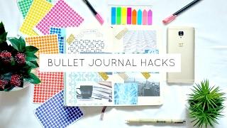 10 Bullet Journal Hacks & Ideas