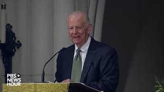 WATCH: James Baker delivers eulogy at George H.W. Bush