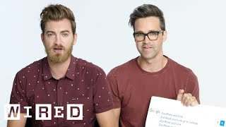 Rhett & Link Answer the Web