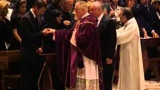 Princess Diana attends Memorial Service of Gianni Versace
