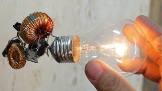 Free Energy Light Bulb TRICK. I INSIST, TRICKKKKK!