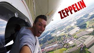 Ist Zeppelin fliegen immer noch so gefährlich? | Selfie aus 300Meter Höhe Vlog #031