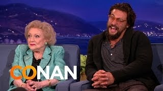 Betty White & Jason Momoa