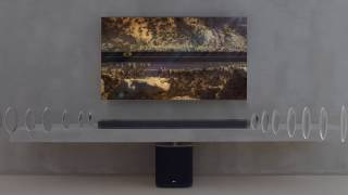 LG Sound Bar SJ9 with Dolby Atmos l Designed For True Atmospheric Sound