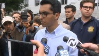 ANN COULTER SPEECH: UC Berkeley Republican students talk about cancelling speech by Ann Coulter