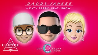 Con Calma Remix - Daddy Yankee + Katy Perry feat. Snow (Official Lyric Video)