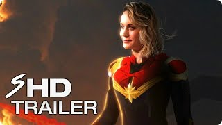 CAPTAIN MARVEL (2019) First Look Trailer - Brie Larson Marvel Movie [HD] Concept