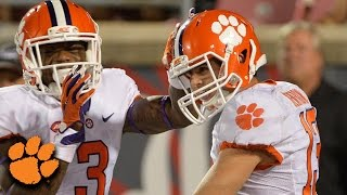Deshaun Watson TD Pass To Hunter Renfrow vs. Auburn | ACC Must See Moment