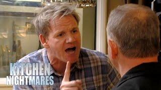 Gordon Ramsay Tears Down Fake, Lying Chef - Kitchen Nightmares