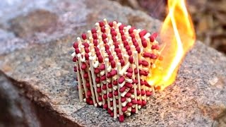 What Happens if You Set Match Cube on Fire