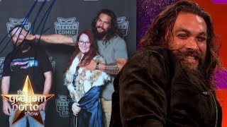 Jason Momoa LOVES To Take Pictures With Other People's Girlfriends | The Graham Norton Show