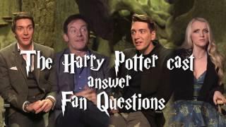 Harry Potter Cast Answer Fan Questions!