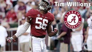 Tim Williams    Alabama Career Highlights    2013 - 2017