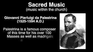 Renaissance Music Overview