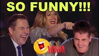 TOP 10 MOST FUNNY & HILARIOUS AUDITIONS ON BRITAIN