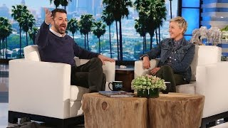 Jimmy Kimmel Talks Retirement Rumors and Matt Damon Feud